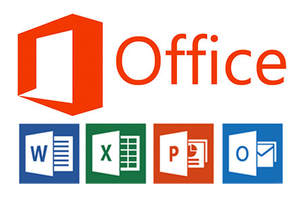Logo de microsoft Office: Outlook, Word, Excel, Powerpoint